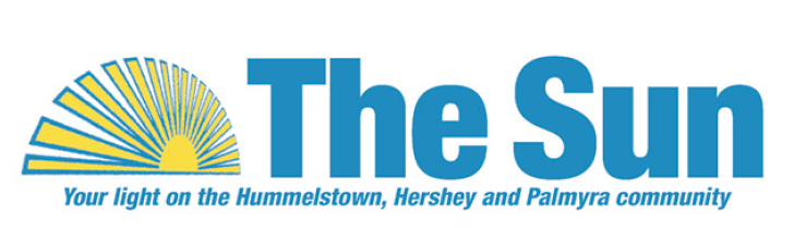 The Sun newspaper logo in Hummelstown, PA