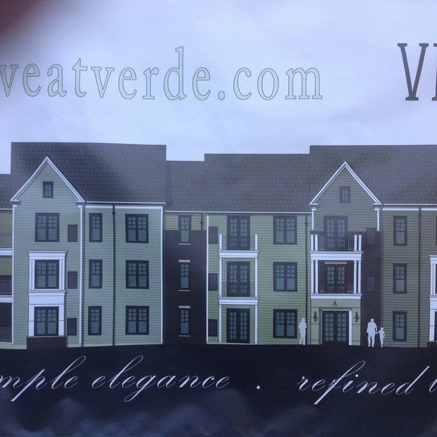 Drawing of Verde Apartments building