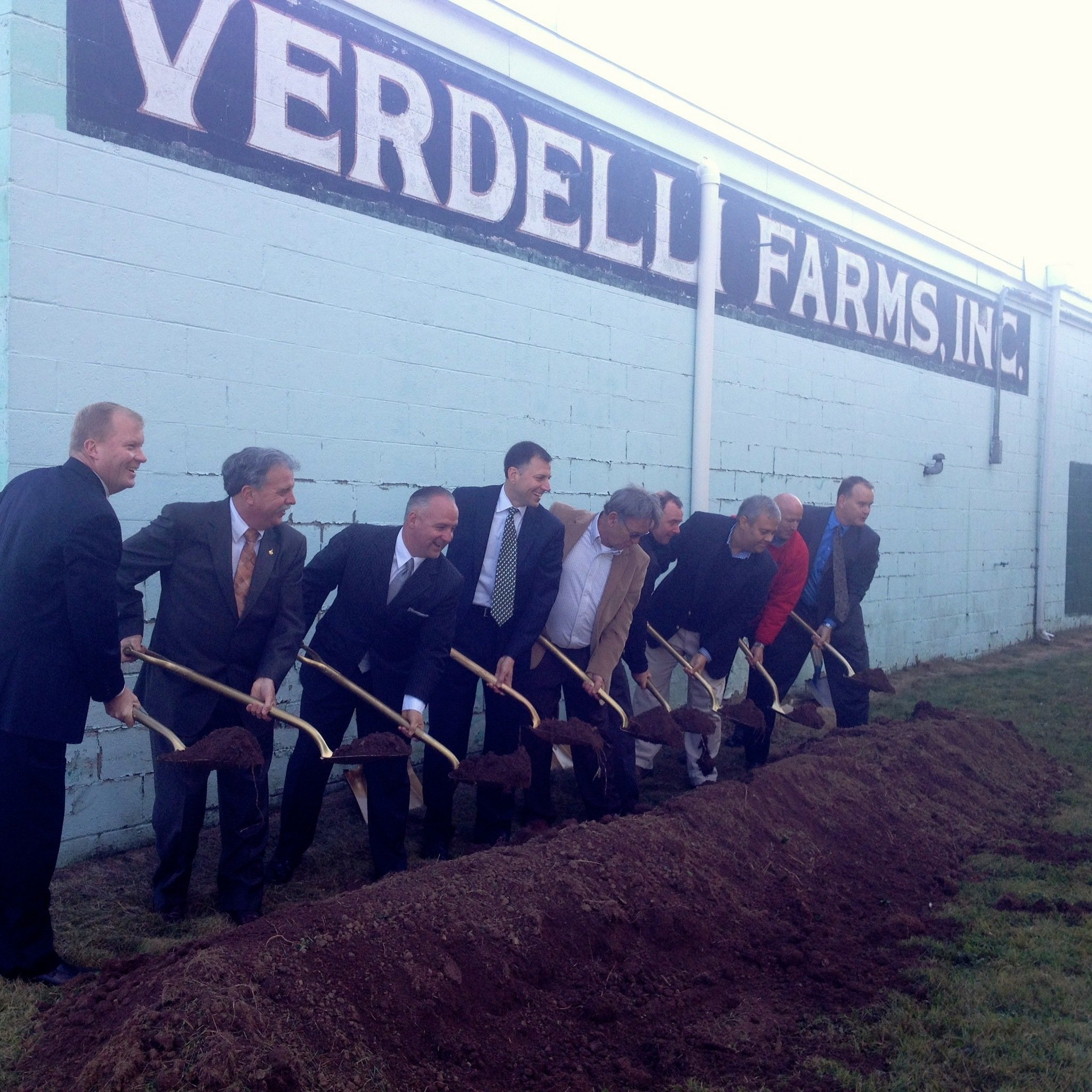 Verde Management Team breaking ground to build Verde Apartments